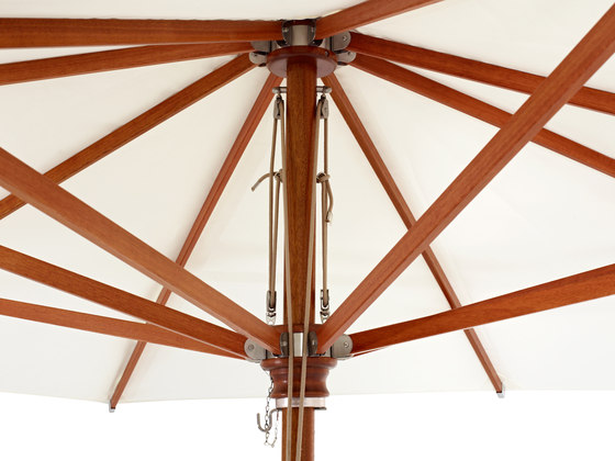 Type H Wooden umbrella by MDT-tex