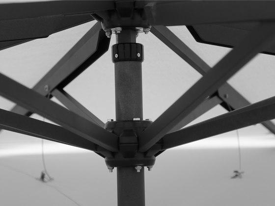 Type AVH Double membrane umbrella by MDT-tex