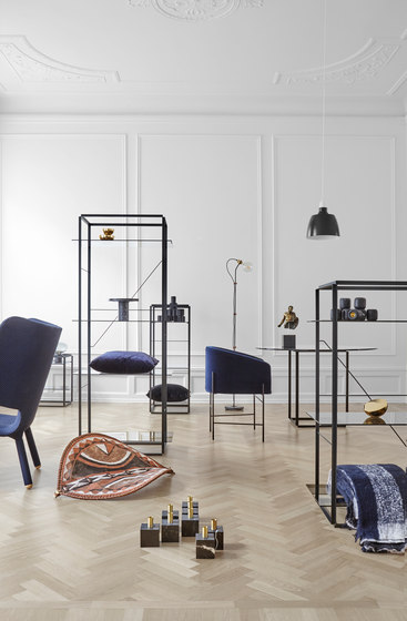 Tembo Lounge Chair Uniform Melange by NEW WORKS