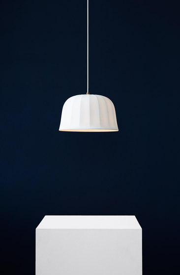 Juliet Pendant White Bone China by NEW WORKS