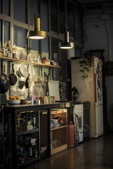 Arne Domus   Pendant Lamp by Santa & Cole