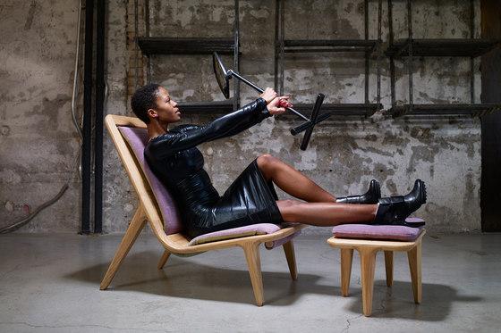 LayAir 01 High Armchair de Hookl und Stool