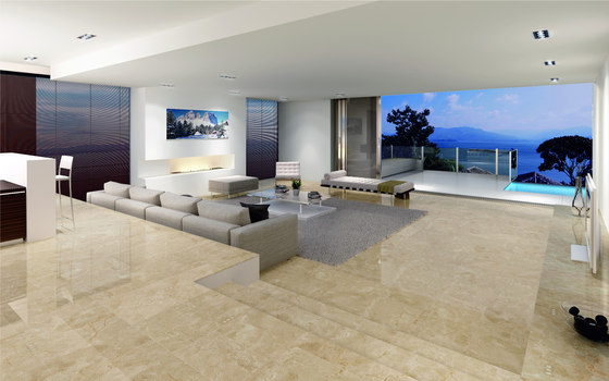 Crema marfil natural stone panels from levantina for Pisos de marmol para casas