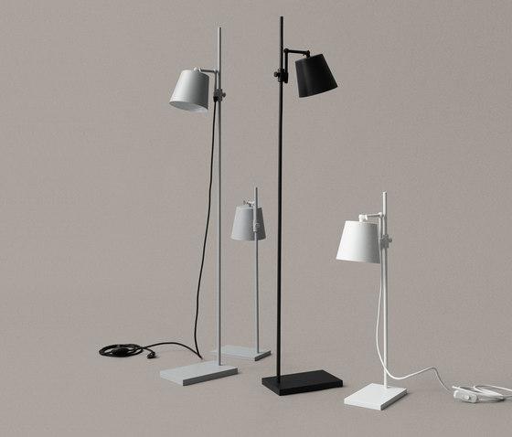 Steel Lab Light floor black by Karakter Copenhagen