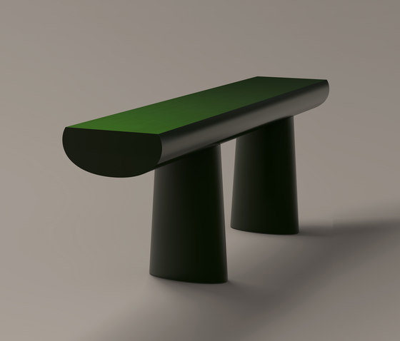 Urushi Green Table by Karakter Copenhagen