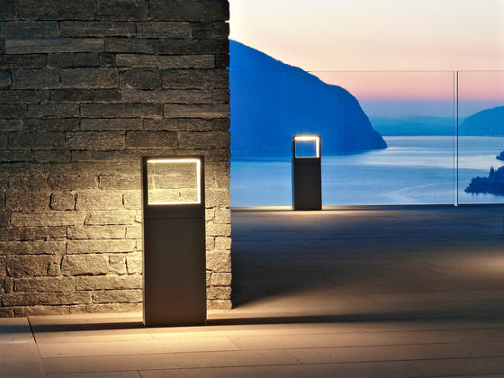 Cool Square Bollard by Simes