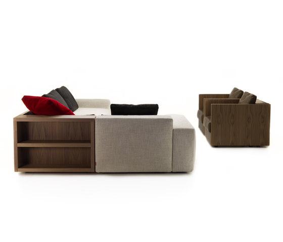 Sofa So Wood | divano 3 posti di Mussi Italy