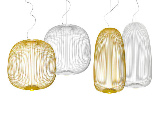 Spokes 2 Large suspension white by Foscarini