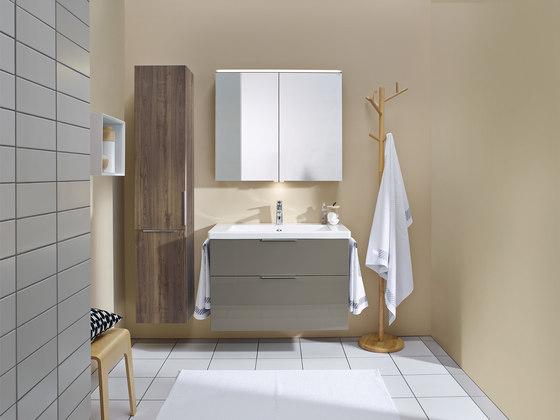 Eqio | Armoire de toilette avec éclairage LED horizontal de burgbad