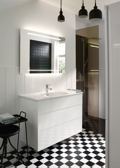 Essento | Mirror cabinet incl. LED lighting of washbasin de burgbad