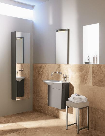 Pli | Tall unit with mirrored door di burgbad