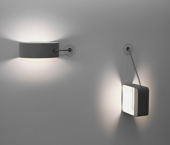 Eau de lumière Table lamp Small Square by designheure