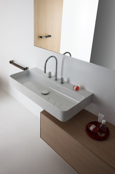 val washbasin by laufen val drop in washbasin val. Black Bedroom Furniture Sets. Home Design Ideas
