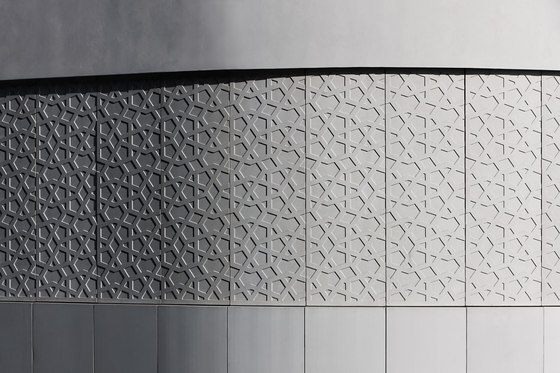 Engraved panels by IVANKA