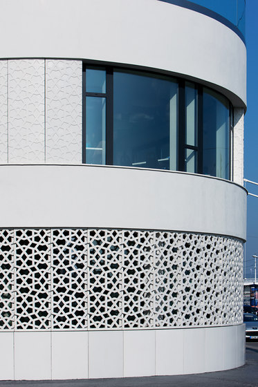 Perforated panels by IVANKA