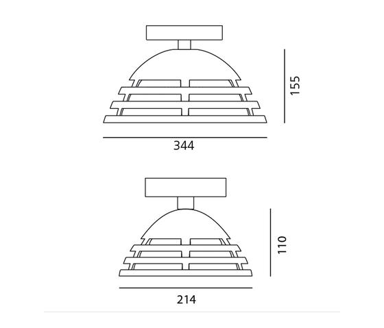 Incipit Suspension di Artemide Architectural