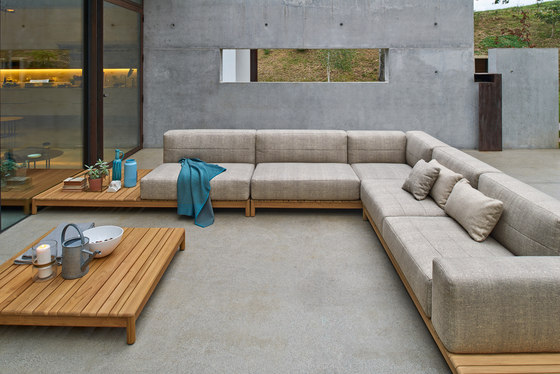 Barcode modular sofa by Varaschin