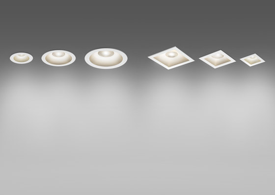 Parabola round 55 80 100 by Artemide Architectural