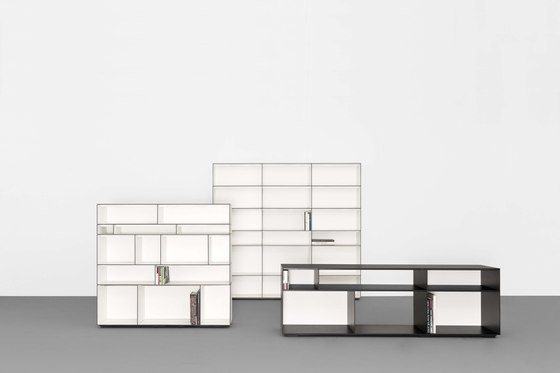 DIGITAL modular sideboard- and shelfsystem by Sanktjohanser