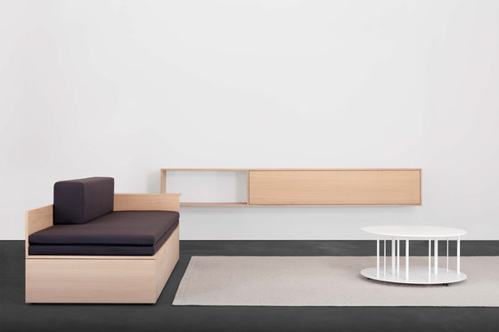 SALTO couch / daybed / sofa bed / bed by Sanktjohanser