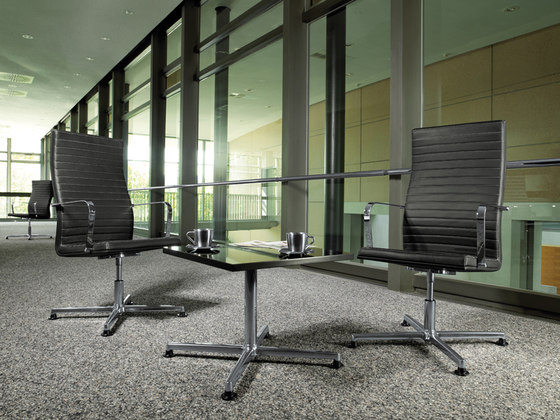 Pure Conference Chair Low Backrest by viasit