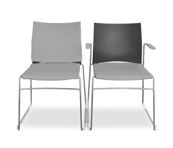 Sid Stacking chair by Viasit