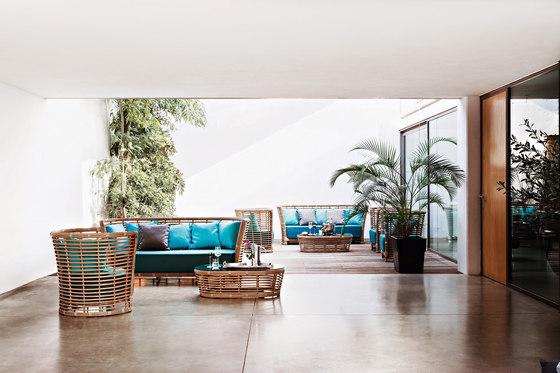 Tonkino lounge chair de Varaschin
