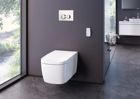 V-care Wall-hung WC by VitrA Bad