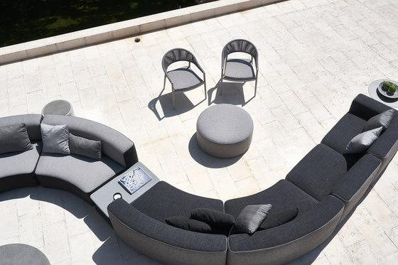 Belt armchair by Varaschin