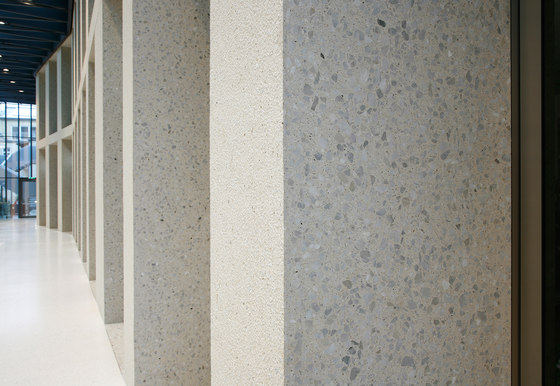 Polished Surfaces - pure white by Hering Architectural Concrete