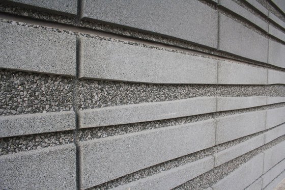 Washed Surfaces - white by Hering Architectural Concrete