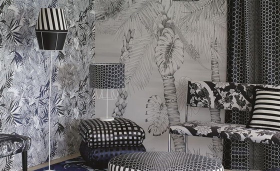 Belles Rives Wallpaper | Beach Club - Mediterranee by Designers Guild