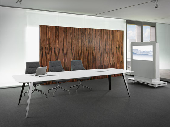 C12 Conference table by Holzmedia