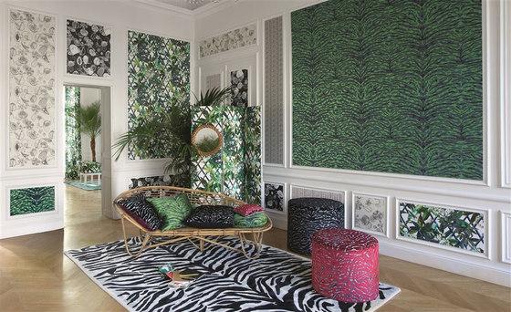 Nouveaux Mondes Wallpaper | Agua Parati - Amande von Designers Guild