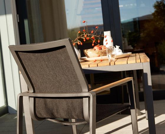 Tavolo allungabile ceramica Classic Alu di solpuri