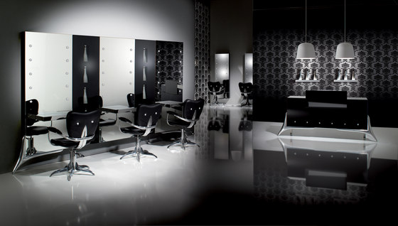 Crystalcoiff | MG BROSS Styling Salon Chair by GAMMA & BROSS