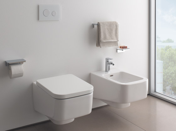 LAUFEN Pro S | Wall-hung WC, washdown by Laufen