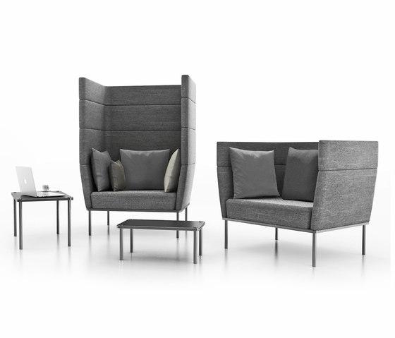 element lounge seating von Wiesner-Hager