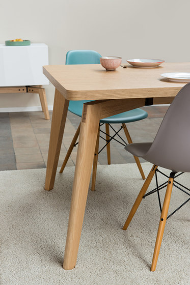 Private Space Dining Table Oak SL by ellenberger