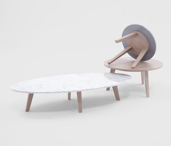 Pelagie Coffee Table by Comforty