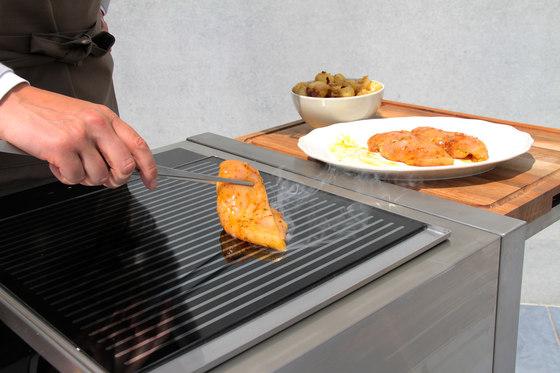 Cooking plates   380 teppanyaki induction di Indu+
