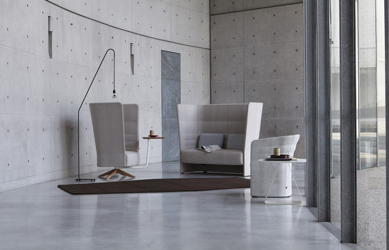 Cell 128 high-back armchair by sitland