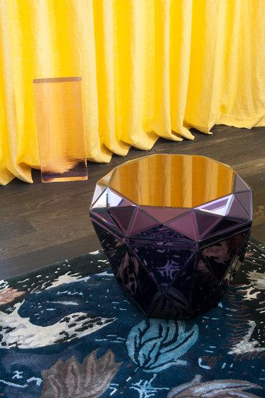 Diamond Table burgundy di Reflections Copenhagen