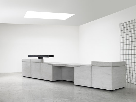 Lintel Reception Desk Configuration 7 by Isomi