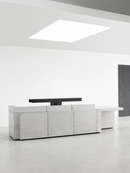 Volume Reception Desk Configuration 8 de Isomi