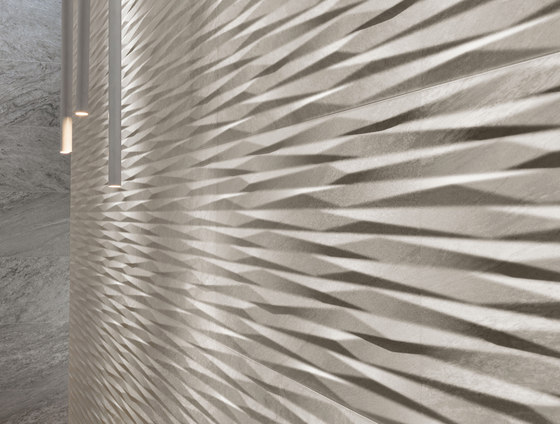 Brave 3D/Wall Wave Pearl by Atlas Concorde