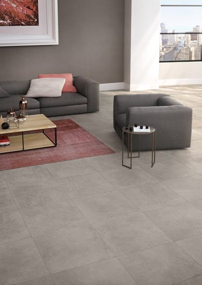 Moov anthracite de keope carrelage pour sol architonic for Carrelage keope