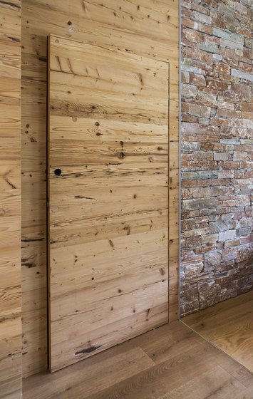 DOORs Reclaimed wood hacked H3 by Admonter Holzindustrie AG