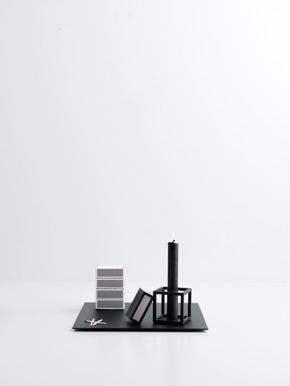 Matchbox Cover Black by by Lassen