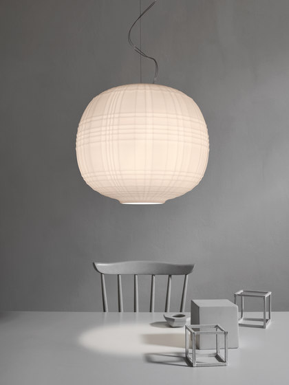 Tartan suspension de Foscarini